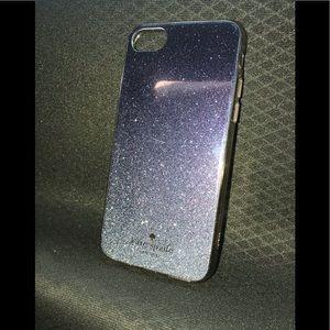 Kate Spade glitter ombré iPhone 7/8 phone case